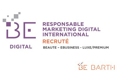 Responsable Marketing Digital International - Be Barth - Digital