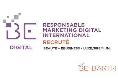 Responsable Marketing Digital International - Be Barth - Digital