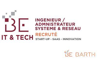 BeBarth - IT - Ingenieur Système Réseau