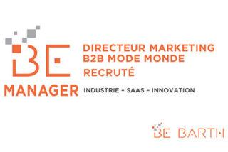 bebarth - Manager - Directeur Marketing B2B Mode Monde