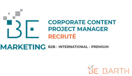 BeBarth - Corporate Content Project Manager - Natif Anglophone
