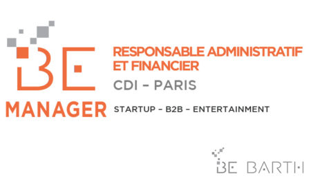 bebarth - Manager - Responsable administratif et financier