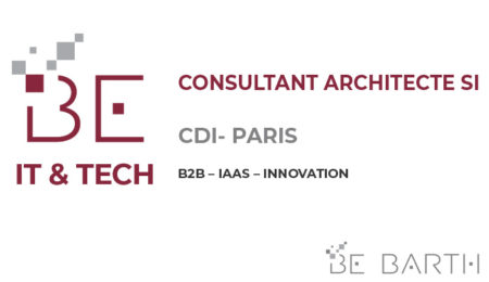 BEBARTH - IT-TECH - Consultant Architecte SI