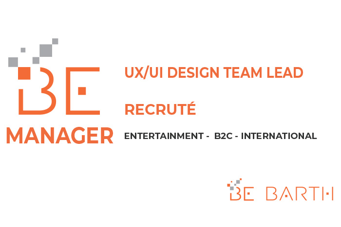 bebarth - manager -UX / UI Design Team lead
