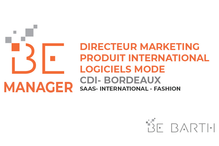 BEBARTH - Directeur Marketing Produit International - Logiciels Mode