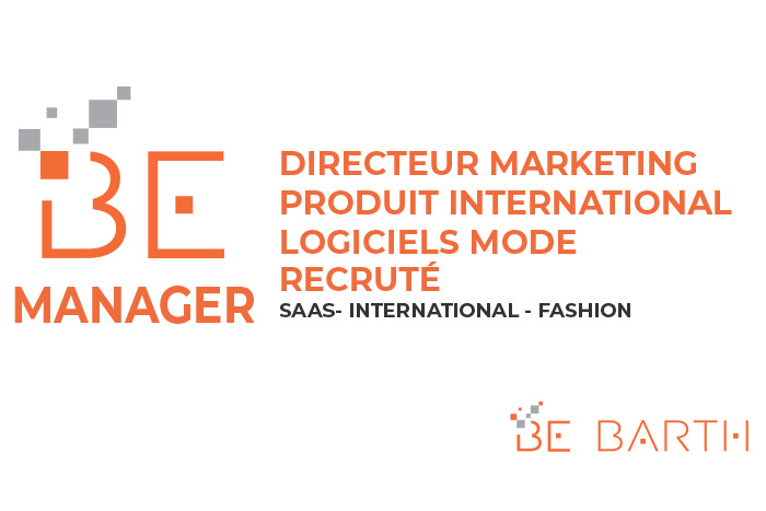 Directeur Marketing Produit International - Logiciels Mode