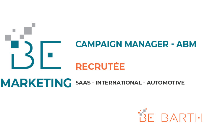 BEBARTH - MARKETING - Campaign Manager - ABM
