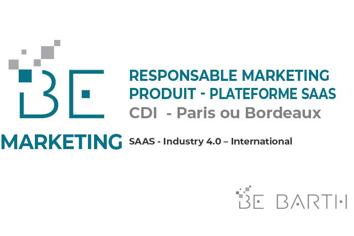 BEBARTH - MARKETING - Responsable Marketing Produit